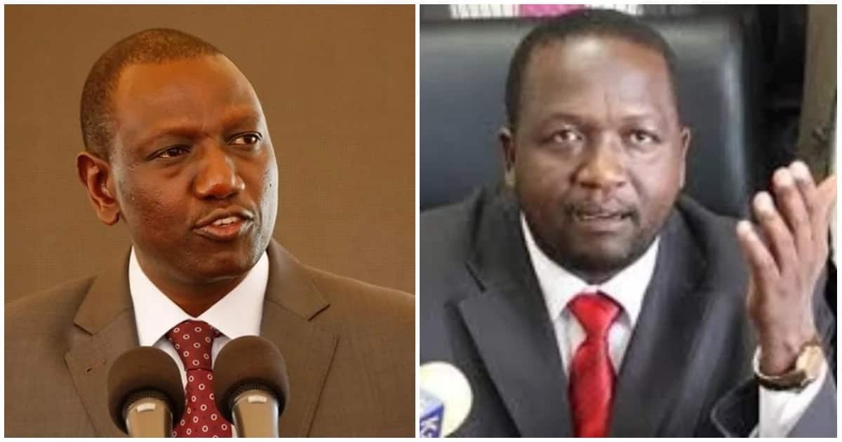 Deputy President William Ruto disagreed with Tiati MP William Kamket over proposal for Constitutional amendment.