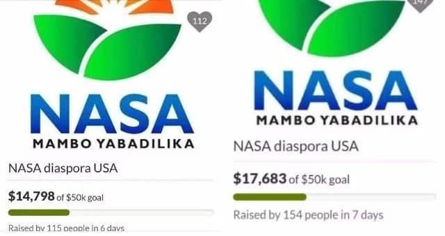 NASA funds update