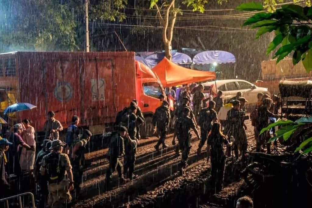More goodies trickle in for 12 boys, coach rescued from Thai cave after 2 weeks