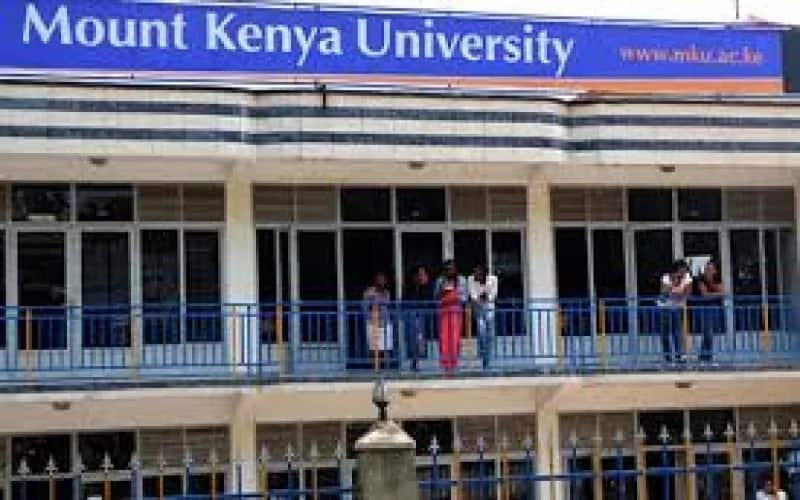 Mount kenya university diploma courses list, requirements & fee structure