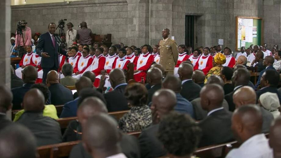 Uhuru kills two birds with one stone as Kenya remembers the country's first president