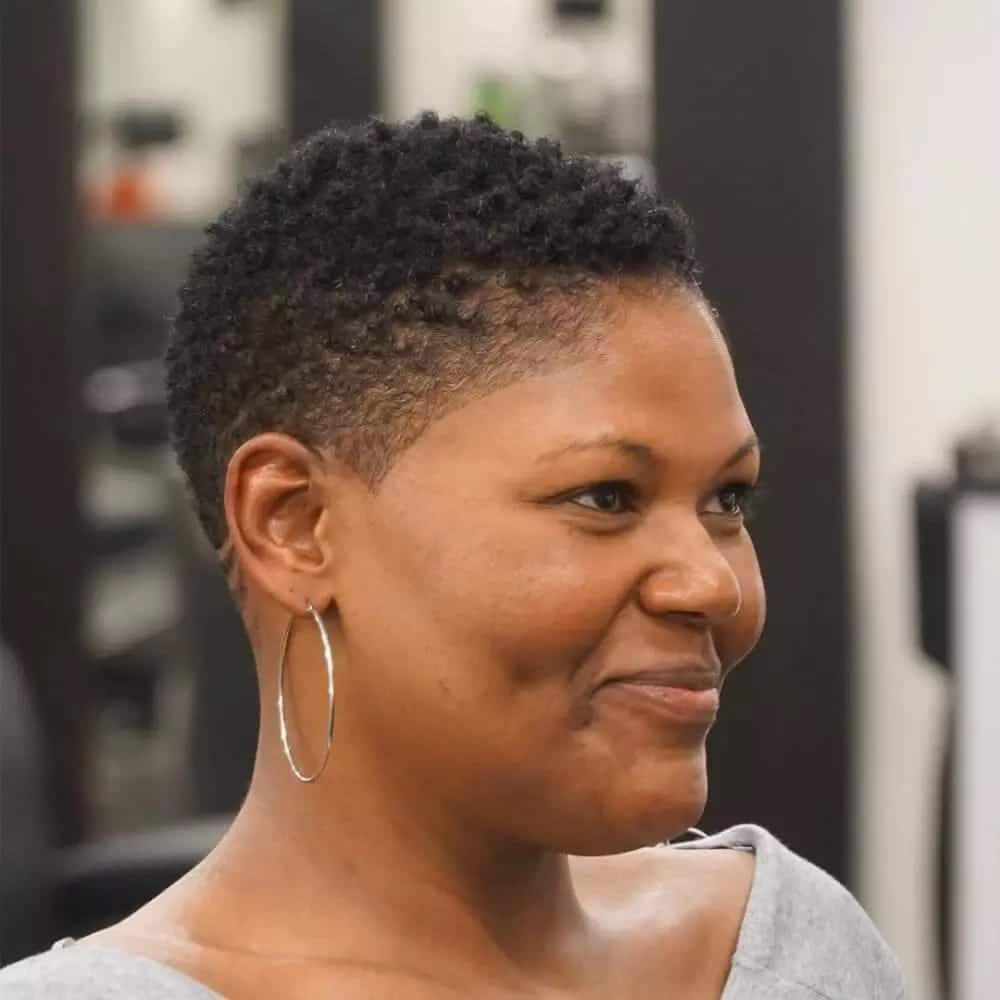 African Hairstyles For Round Faces For Ladies Tuko Co Ke