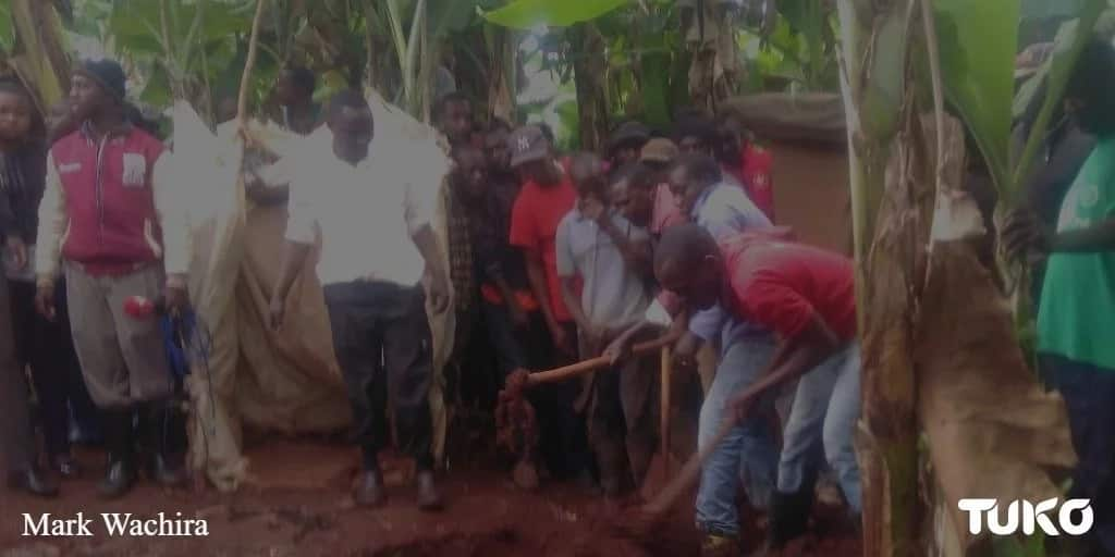 Police fail to get remains of missing woman in ex-husband's pit latrine after 6-hour search