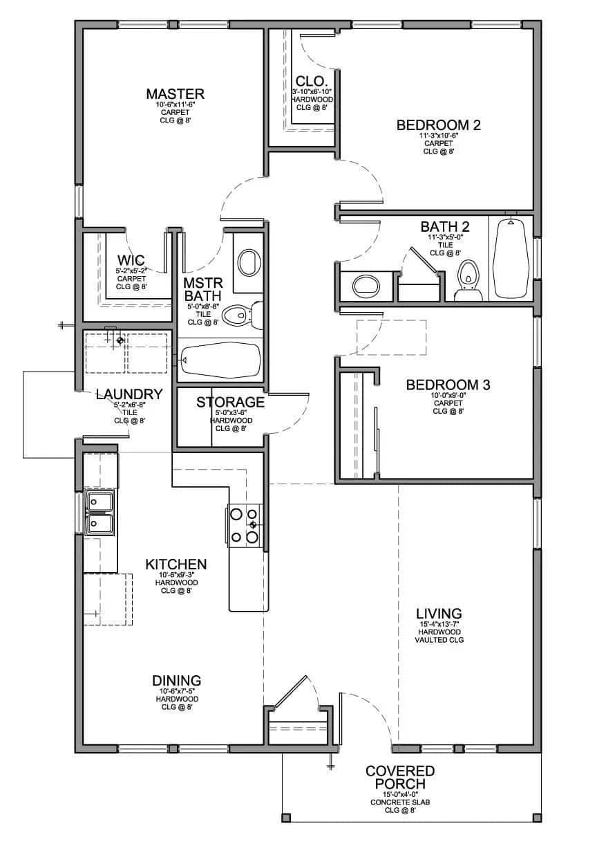 Low budget modern 3 bedroom house design tuko co ke
