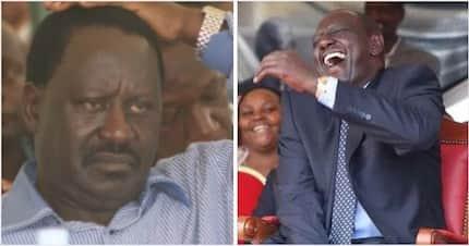 Ruto atamshinda Raila kwa asilimia kubwa katika uchaguzi wa 2022- utafiti wabainisha