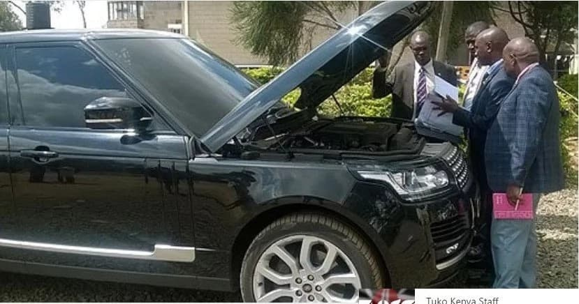 CS Wamalwa agrees to pay millions to get back his Range Rover SUV