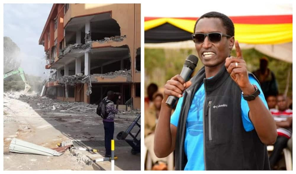 Ongoing demolitions are bad for the country's image - Buzeki declares in front of DP Ruto