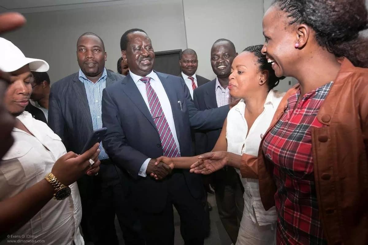 Raila awashangaza wengi baada kukutana na 'Mt. Kenya business community'