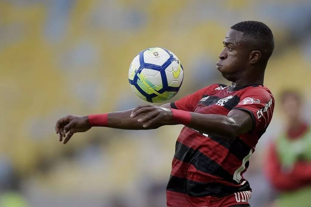 Real Madrid unveil Brazil youngster Vinicius after sealing a KSh 4.6 billion deal with Flamengo