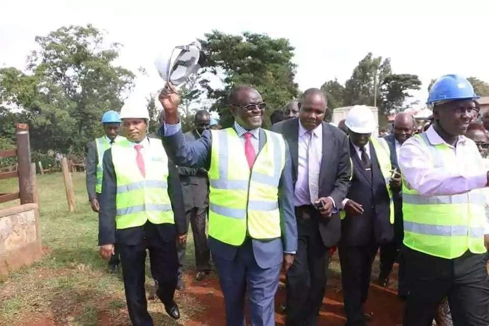 Meru Governor warns fire fighters against responding to school fires