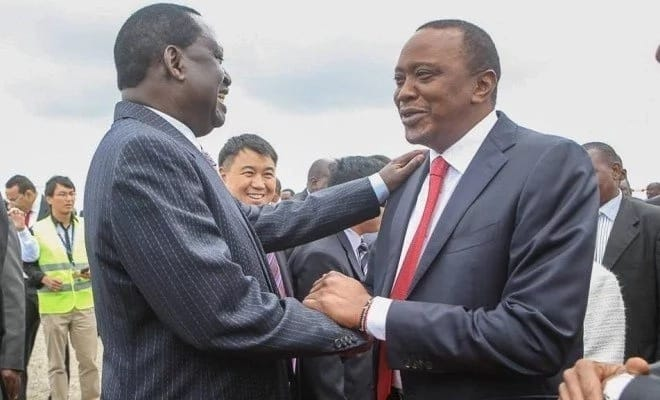 Second MT Kenya governor wants Uhuru to meet Raila amid heightened political temperatures