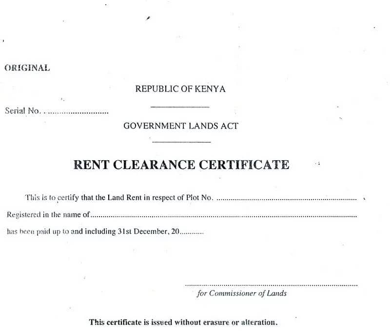 online land search in Kenya