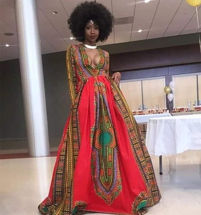 Best African print prom dress designs for teens 2018