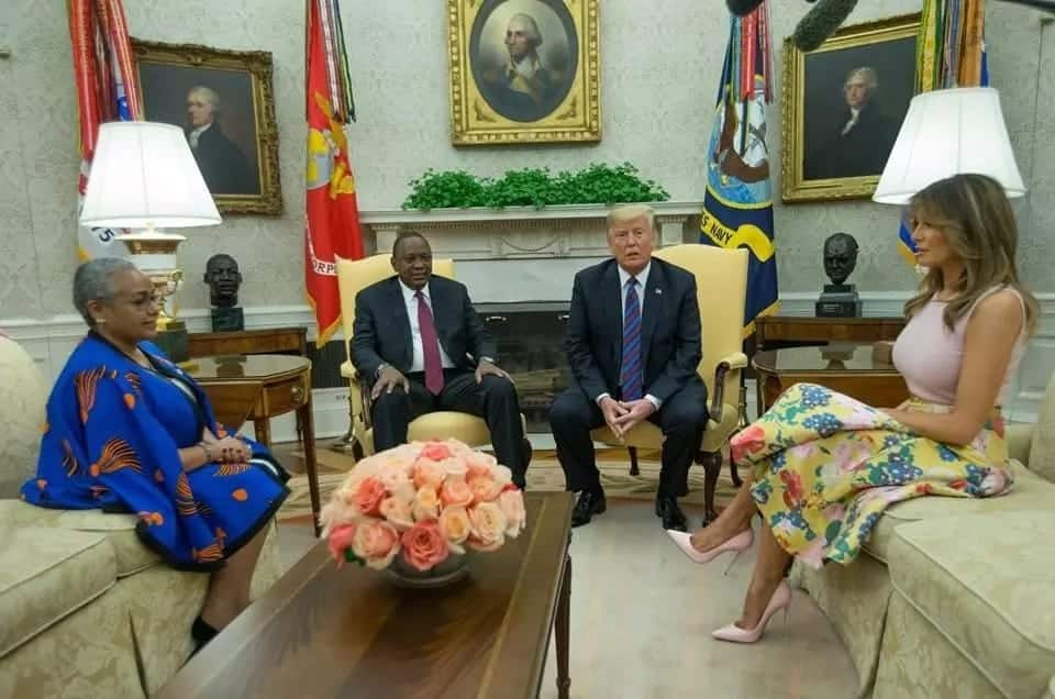US First Lady scolded by Americans for lauding Margaret Kenyatta's beyond zero campaign