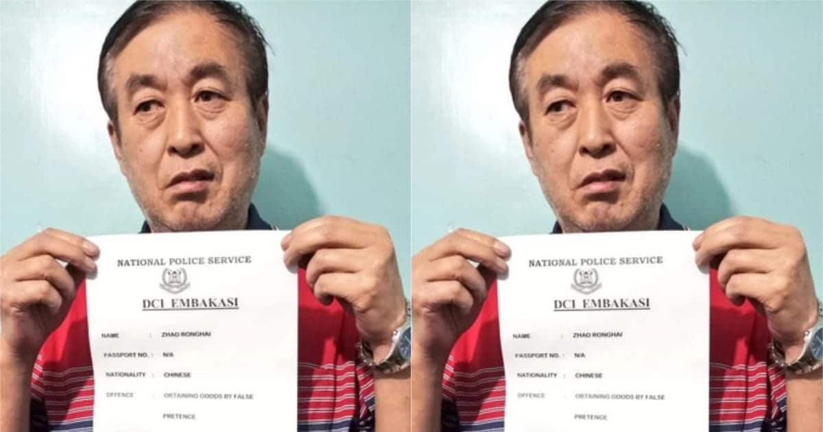 Chinese national arrested and charged with KSh 7 million fraud