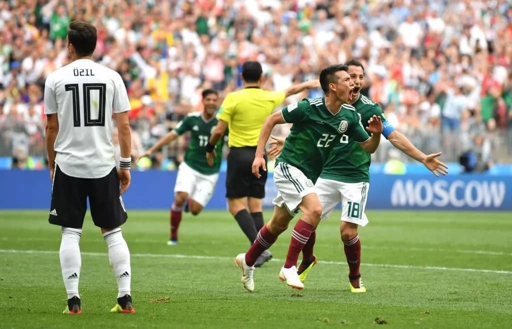 Defending champions Germany humbled 1-0 by Mexico in World Cup 2018 opener