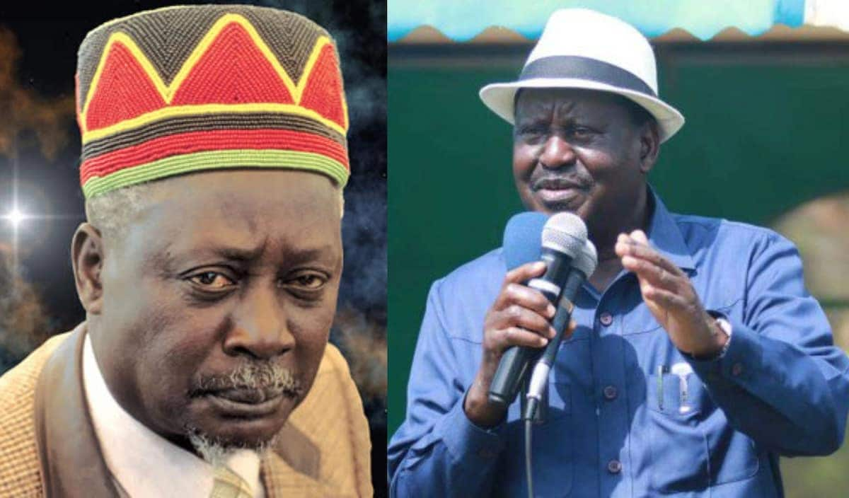 Raila calls for audit of his father's wealth, says no one should be spared