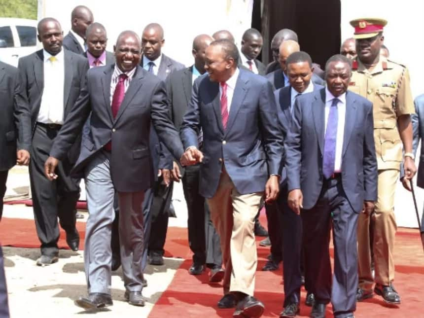 The unique bond between Uhuru and Ruto in photos