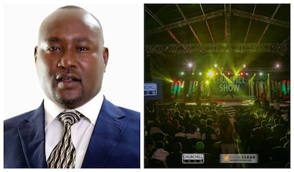 Kajiado Senator thrown out of Churchill live show for misbehaving