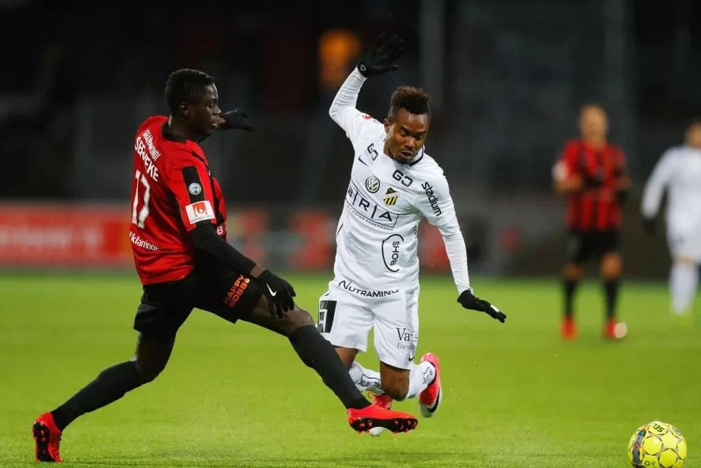 Harambee Stars emerging ace Eric Johana awarded Bromma player of the month