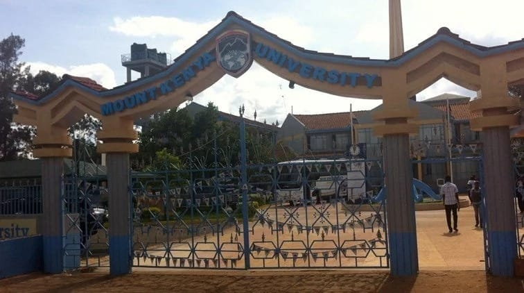 Mount Kenya University courses and fee structure