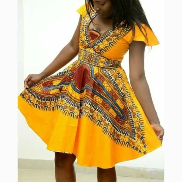 Kitenge designs for young ladies