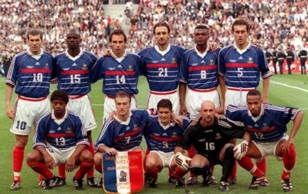 France '98 team reunite to celebrate their World Cup triumph after 20 years
