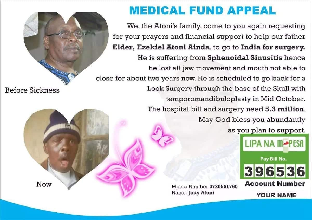 Kisii man unable to close his mouth for two years after strange disease hit him