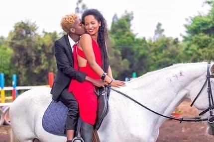 Msanii Eric Omondi ajishaua kwa jumba la kifahari la mpenziwe na kuwaacha wengi vinywa wazi