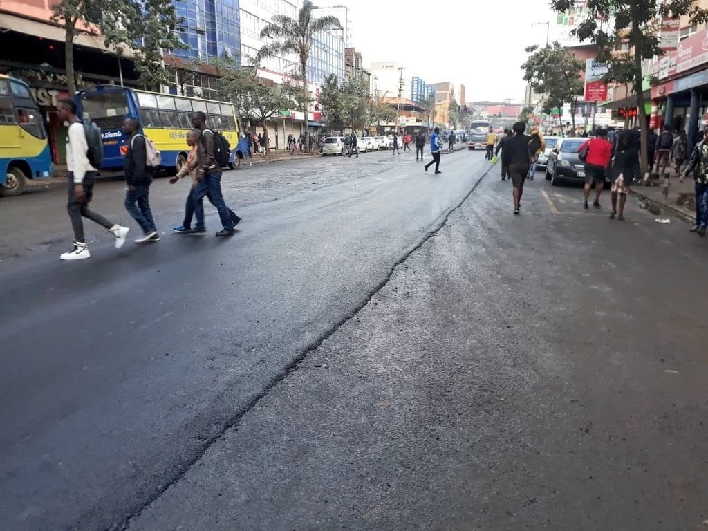 National government takes over repair of Nairobi roads following public outcry