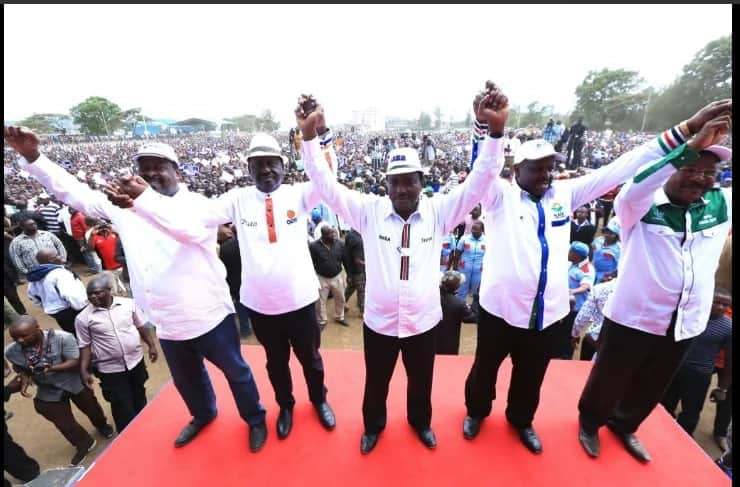 After Uhuru, Raila steps out in his white designer shirt too