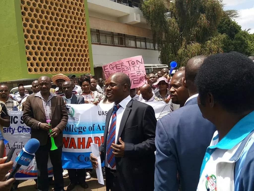Kenyan lady pens passionate letter to Uhuru over university lecturers strike