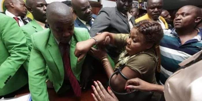 Kirimino Nairobi MCA denies harassing embattle speaker Elachi, says she is born again