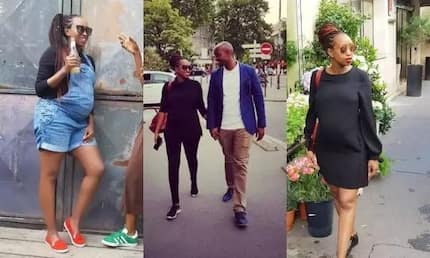All photos from Ex-Citizen TV anchor Janet Mbugua and hubby's fancy babymoon in Paris