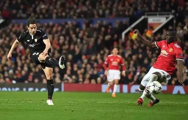 Sevilla silence Manchester United at Old Trafford as the Red Devils embarrassingly crash out of the Champions League