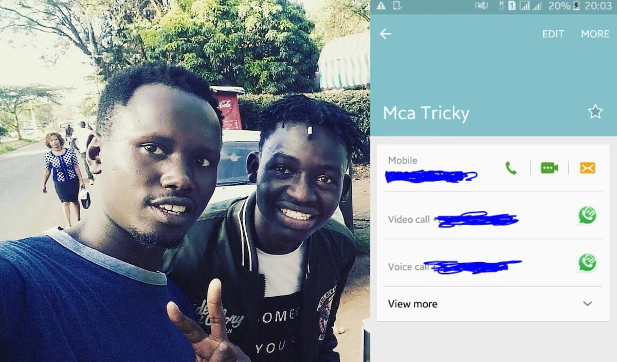 Churchill show comedian MCA tricky fights off claims he conned someone KSh 2,000
