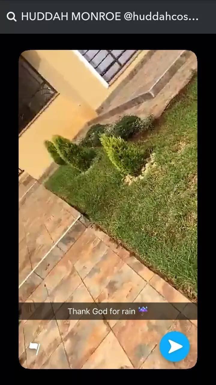 Socialite Huddah flaunts lavish 7-bedroomed mansion on social media
