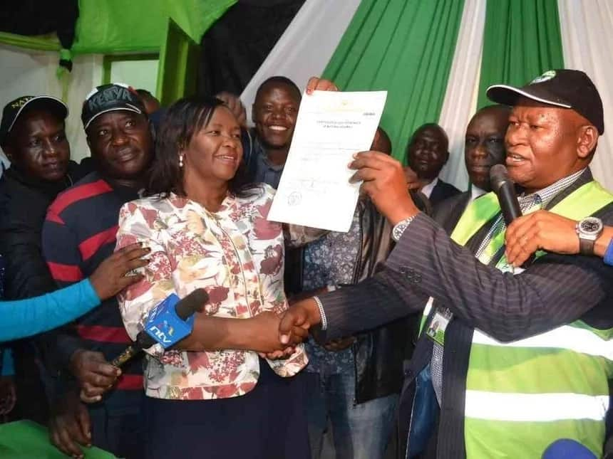 Nyenze's widow wins Kitui West seat with a landslide