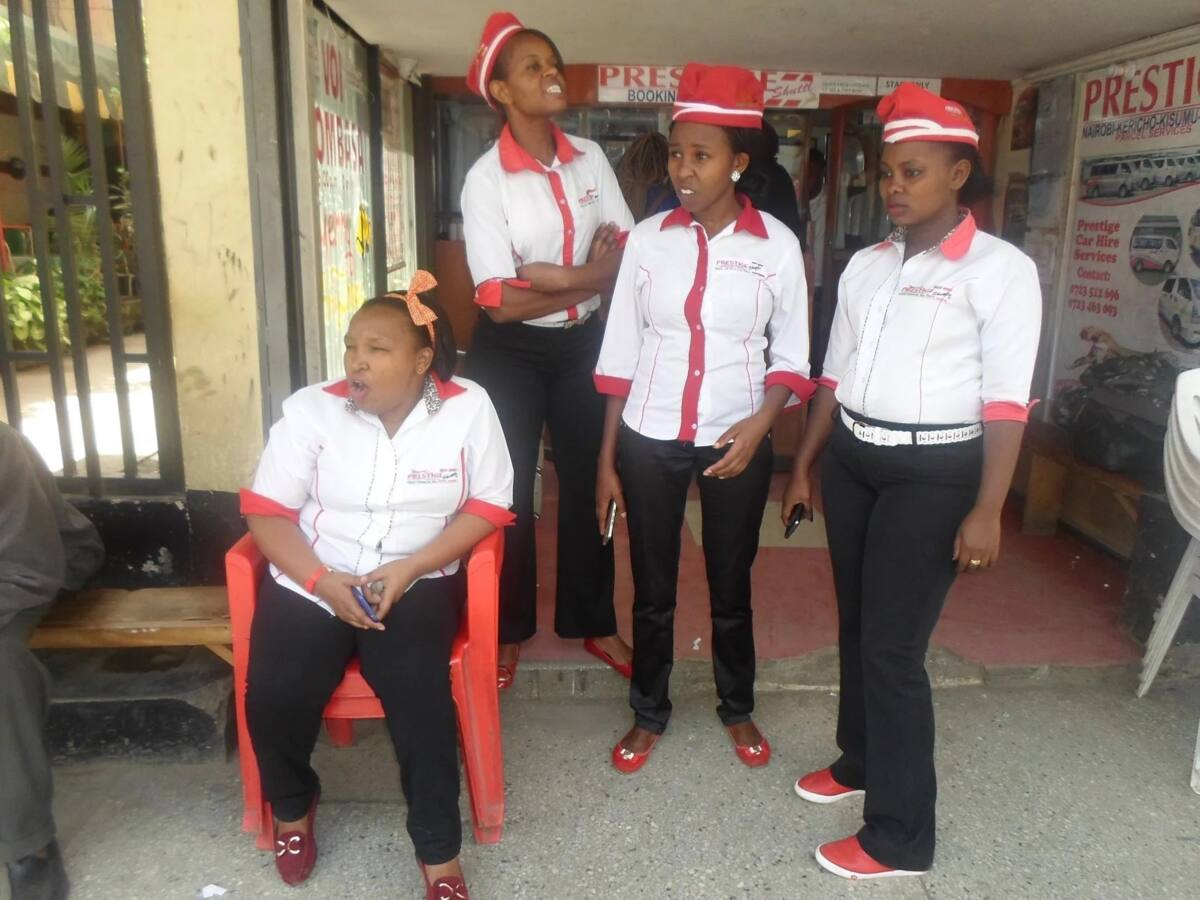 Meet Prestige Shuttle hostesses that are giving male touts a run for their money