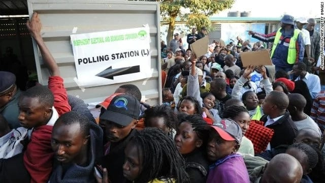 Chaos as ballot papers are burnt in Kirinyaga
