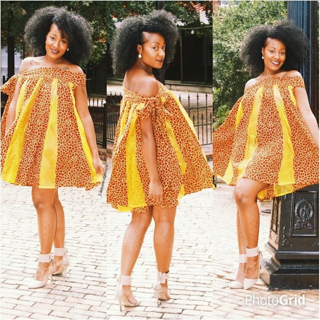 Kitenge designs for maternity dresses