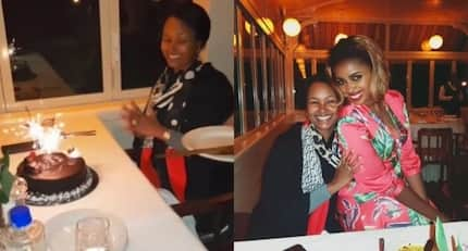 All the lovely photos from Gideon Moi's wife's simple birthday party