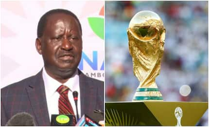 The day FIFA security detail embarrassed Raila as he tried to touch the World Cup trophy