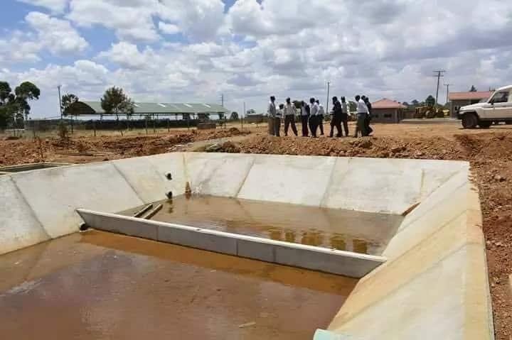Eldoret police found stealing water through illegal connection