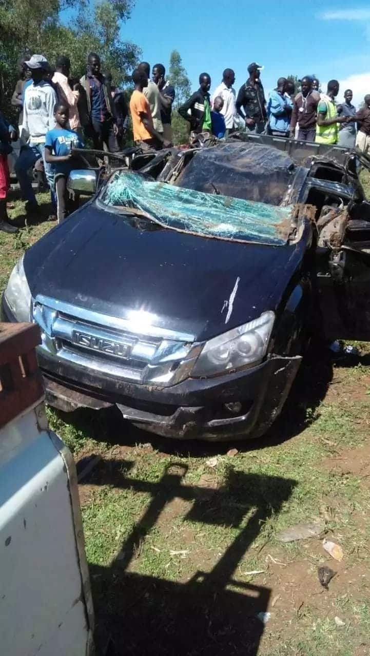 Migori Woman Rep Pamela Odhiambo rushed to hospital following grisly accident that killed her bodyguard