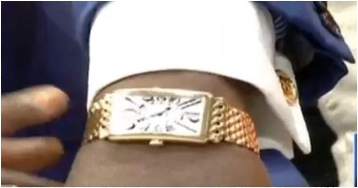 I bought my watch at KSh 5 milion - COTU boss Francis Atwoli