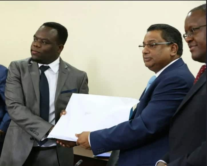 Sonko sends senior officials on compulsory leave for secretly speaking to former governor, Kidero