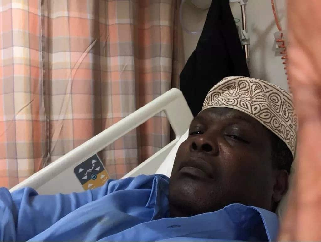 Video and photos of Miguna without signature cap in Dubai after second deportation