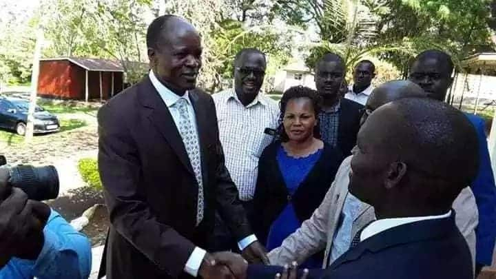 Migori Governor Okoth Obado makes changes at county government hours after resuming office