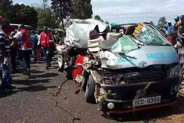 Kenya lady narrates how her mother perished in grisly road accident she had just watched on TV